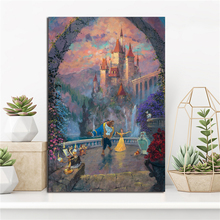 Beauty And The Beast Of Belle Forever James Coleman Art Canvas Poster Painting Wall Picture Print Home Bedroom Decor