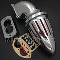 for Kawasaki 2002-2009 Vulcan 1500 1600 Mean Streak CHROME Spike Air Cleaner Filter