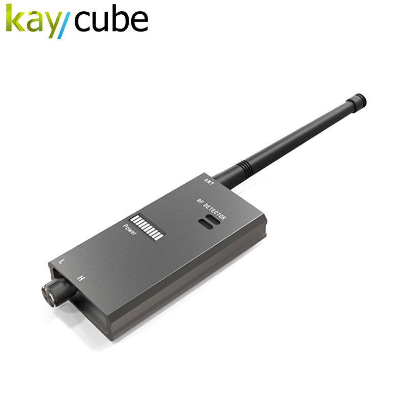 kaycube  Wireless Scanner Signal GSM Device Finder RF Detector Micro Wave Detection Security Sensor Alarm Anti-Spy Bug Detect 1 pcs full range multi function detectable rf lens detector wireless camera gps spy bug rf signal gsm device finder