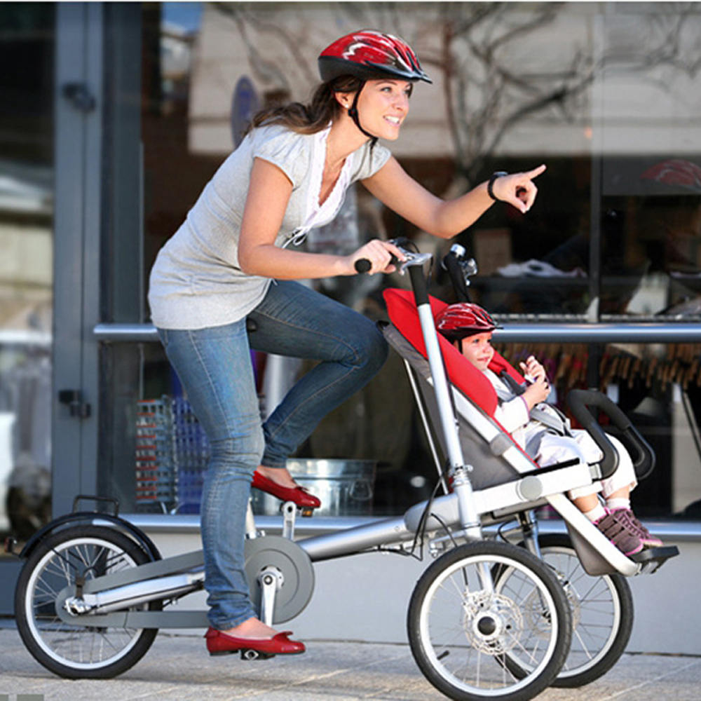 Не Тага Велосипед Коляска Марка 16 Дюймов Складной Прогулочной Коляски Младенца Мать Ребенка Велосипед Taga Велосипед, Коляска Taga Велосипед, К...
