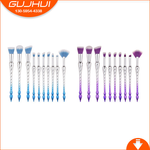 10 Makeup Brushes, Beauty Tools, Revolving Towers, Makeup, Foundation Brushes, Eye Brushes, Makeup Brushes, GUJHUI barchester towers