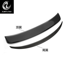 wing dedicated pure carbon fiber rear wing free punch press top wing rear spoiler for Infiniti Q50 Q50L