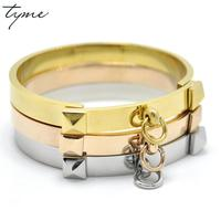 TYME Rose Gold Bracelets For Women Bracelets Bangles Indian Jewelry Men Jewelry Gold Bangle
