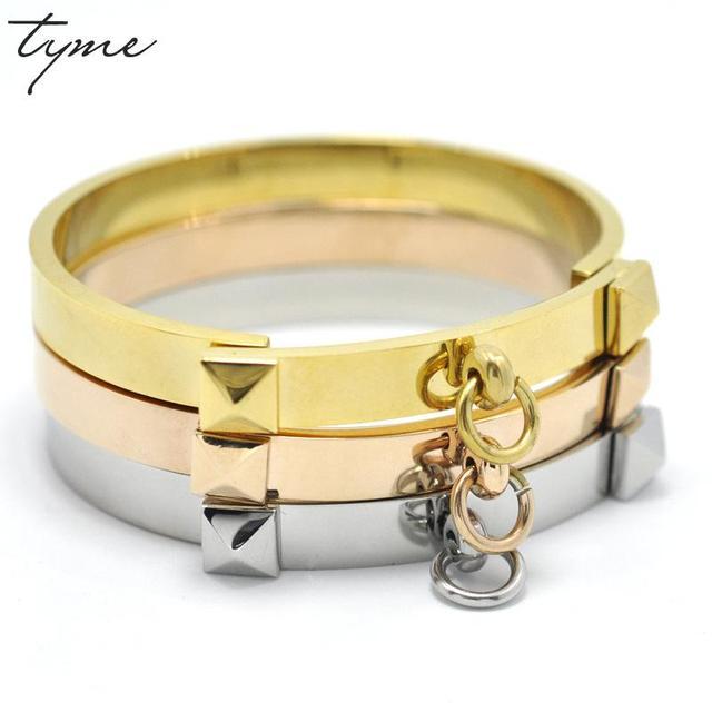 TYME Rose Gold Bracelets For Women Bracelets Bangles Indian