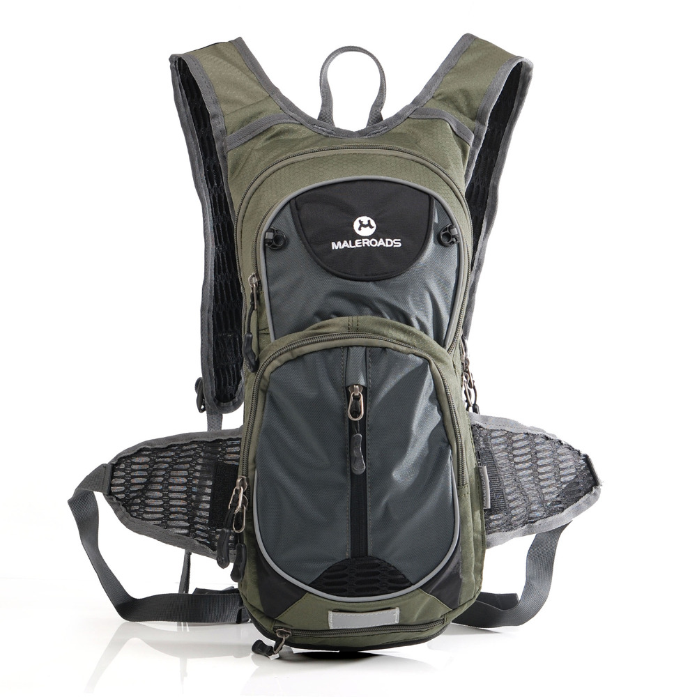 Maleroads Профессия езда рюкзак велосипедный рюкзак и 2L воды сумка баллон из ТПУ гидратации цикла мешок наплечно-Поясная Сумка велосипедный рюк...