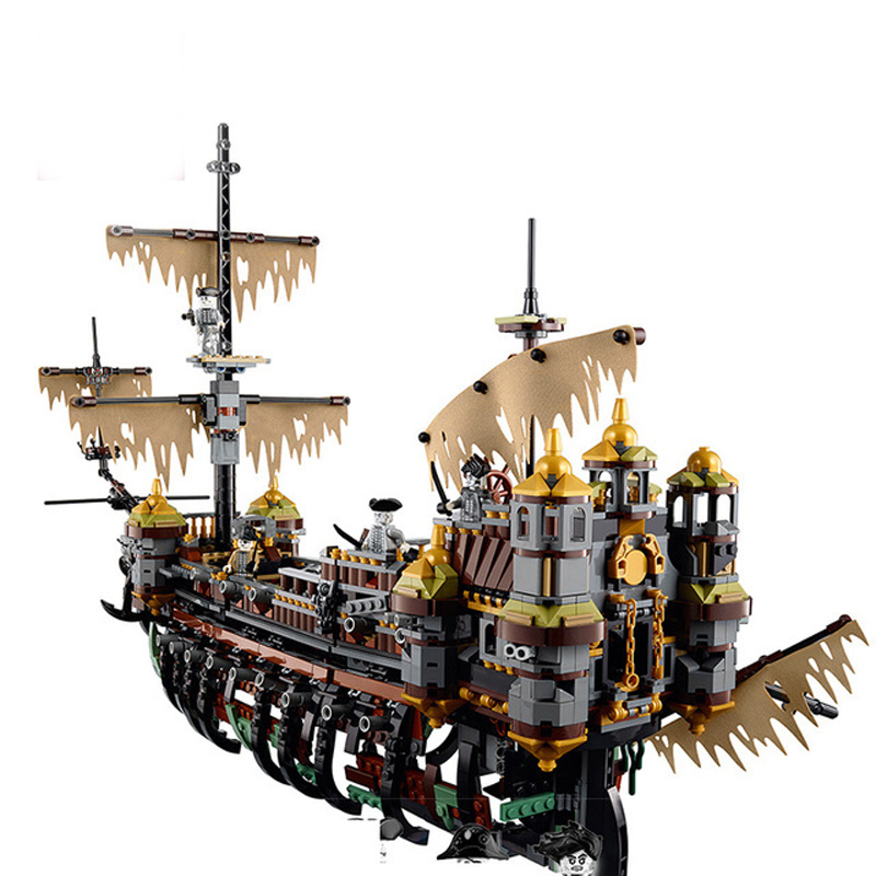 Lepin 16042 New Pirates Of The Caribbean Building Blocks Figures Model Bricks Compatible With Legoing 71042 education Toy new lepin 16009 1151pcs queen anne s revenge pirates of the caribbean building blocks set compatible legoed with 4195 children