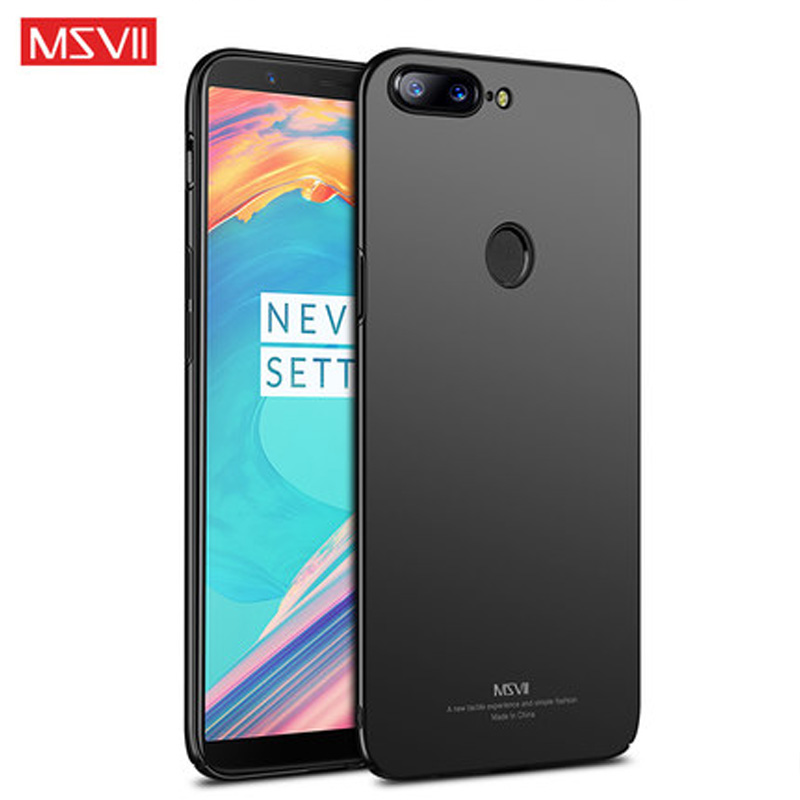Oneplus 5T Case oneplus 5 t cover Luxury Msvii one plus 5t case for oneplus 5t Hard PC back Cover for oneplus 5 5t a5010 cases