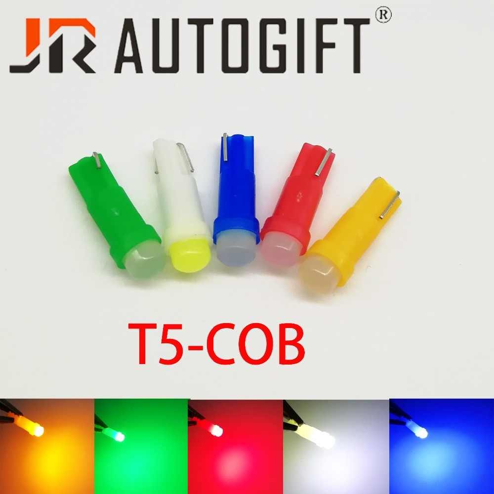 Auto-styling 10 teile/los Auto LED lampen 12 V/24 V Dashboard-wedge instrument licht Anzeige Licht t5 COB 1SMD