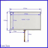 5pcs Lot 165 100 Original New 7 Inch Car DVD Navigation GPS Touch Screen Panel 165mm