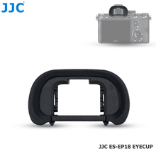 JJC Camera Soft Viewfinder Eyecup for Sony a7 II/a7 III/a7R IV/a7R II/a7R III/a7S/a9/a99 II replaces FDA-EP18 Eyepiece Protector aydgcam brand genuine leather camera case for sony a9 a7r m3 a7r mark iii camera bag handmade half cover handle vintage case