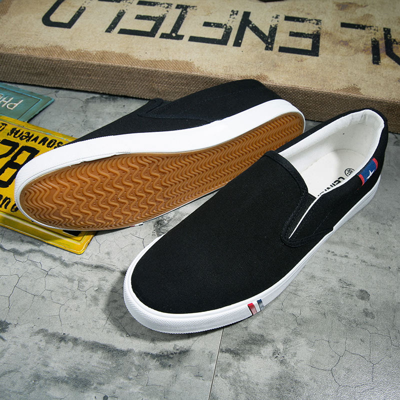 Male Shoes Sneakers On-Flats Casual-Loafers Slip Mens Trainers Men Canvas Adult Summer