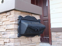 Wall Mounted Cast Aluminum Decorative Mail Boxes Outdoor Maibox Aluminum Letter Box