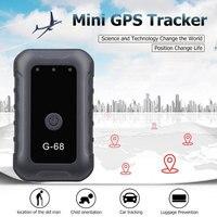 Vehemo ABS Auto Mini GPS Tracker Vehicle Mini GPS Tracker Wifi Mini Mini GPS Tracker for Magnetic Locator GPS for Real