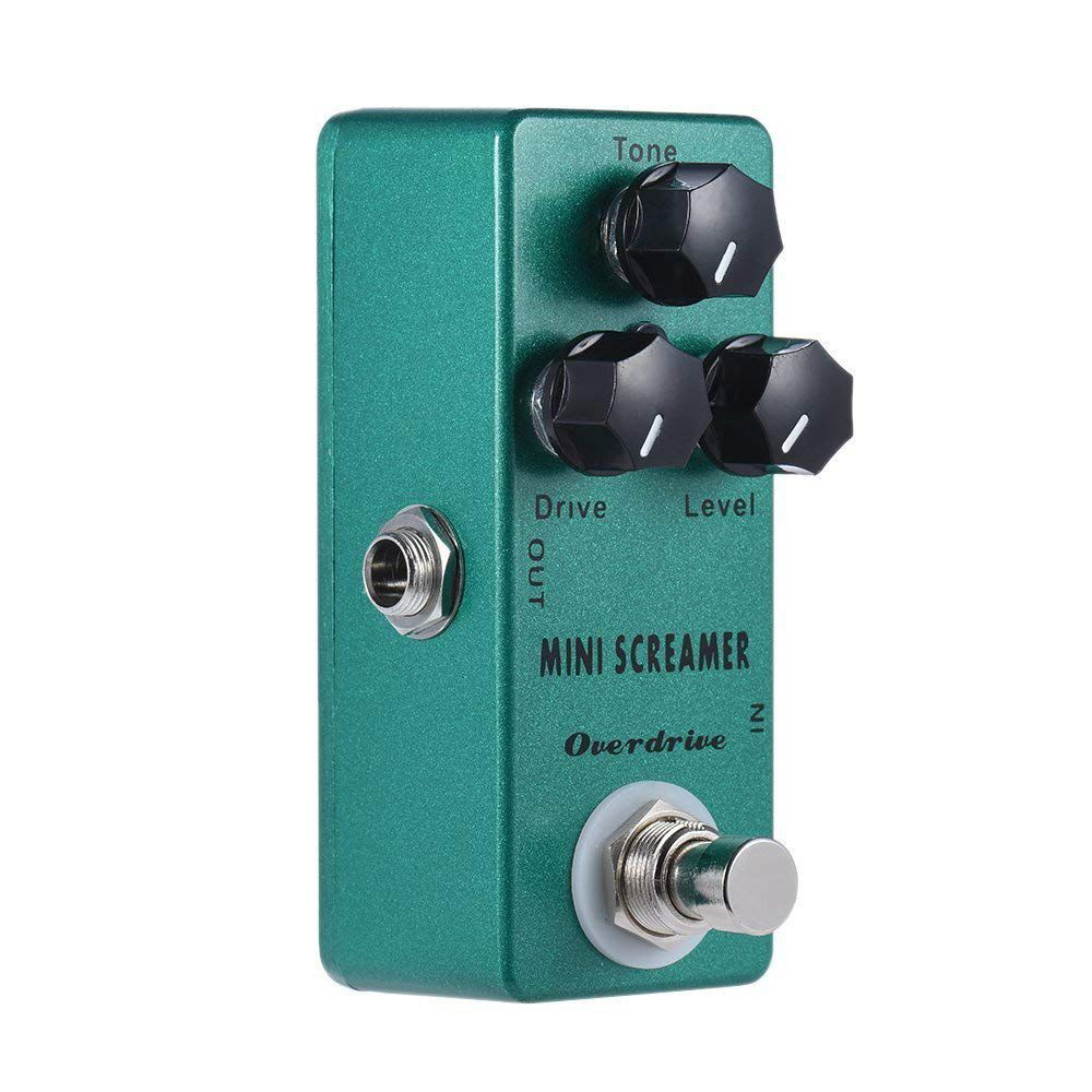 New Mosky Mini Screamer Overdrive (TS9 Overdrive) Mini Guitar Effect Pedal wacken metal overdrive