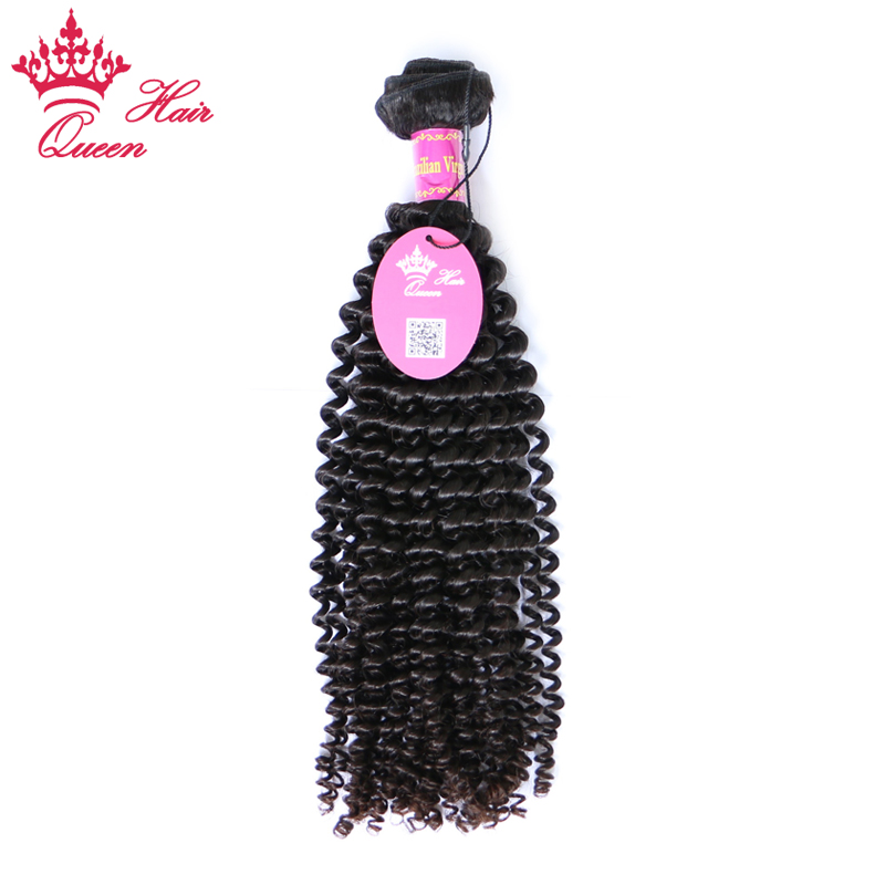 Queen Hair Products Kinky Curly 1 Piece Brazilian Virgin Hair 12 to 28 100 Unprocessed Human