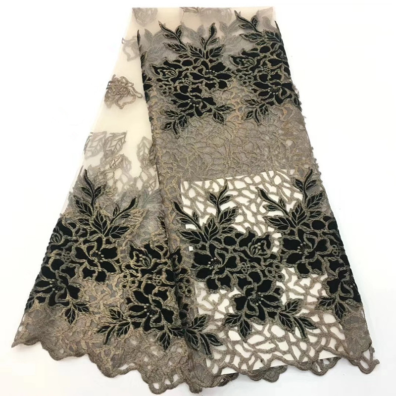 Latest African Laces Fabrics Embroidered High Quality French Lace Fabric Cheap Nigerian Net tulle Lace FabricLatest African Laces Fabrics Embroidered High Quality French Lace Fabric Cheap Nigerian Net tulle Lace Fabric