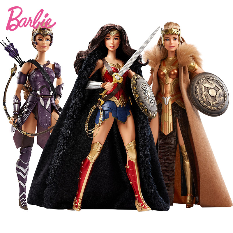 Original Barbie Wonder Woman Princess Doll Collection Chrismtas Birthday Gifts Genuine Barbie Dolls Toys for Child KidsOriginal Barbie Wonder Woman Princess Doll Collection Chrismtas Birthday Gifts Genuine Barbie Dolls Toys for Child Kids