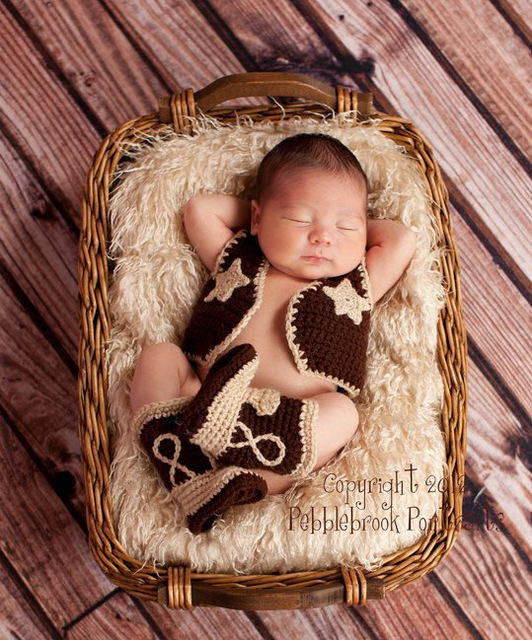 2pcs cartoon new born vest boots wholesale baby girl and boy clothes newborn photography props
