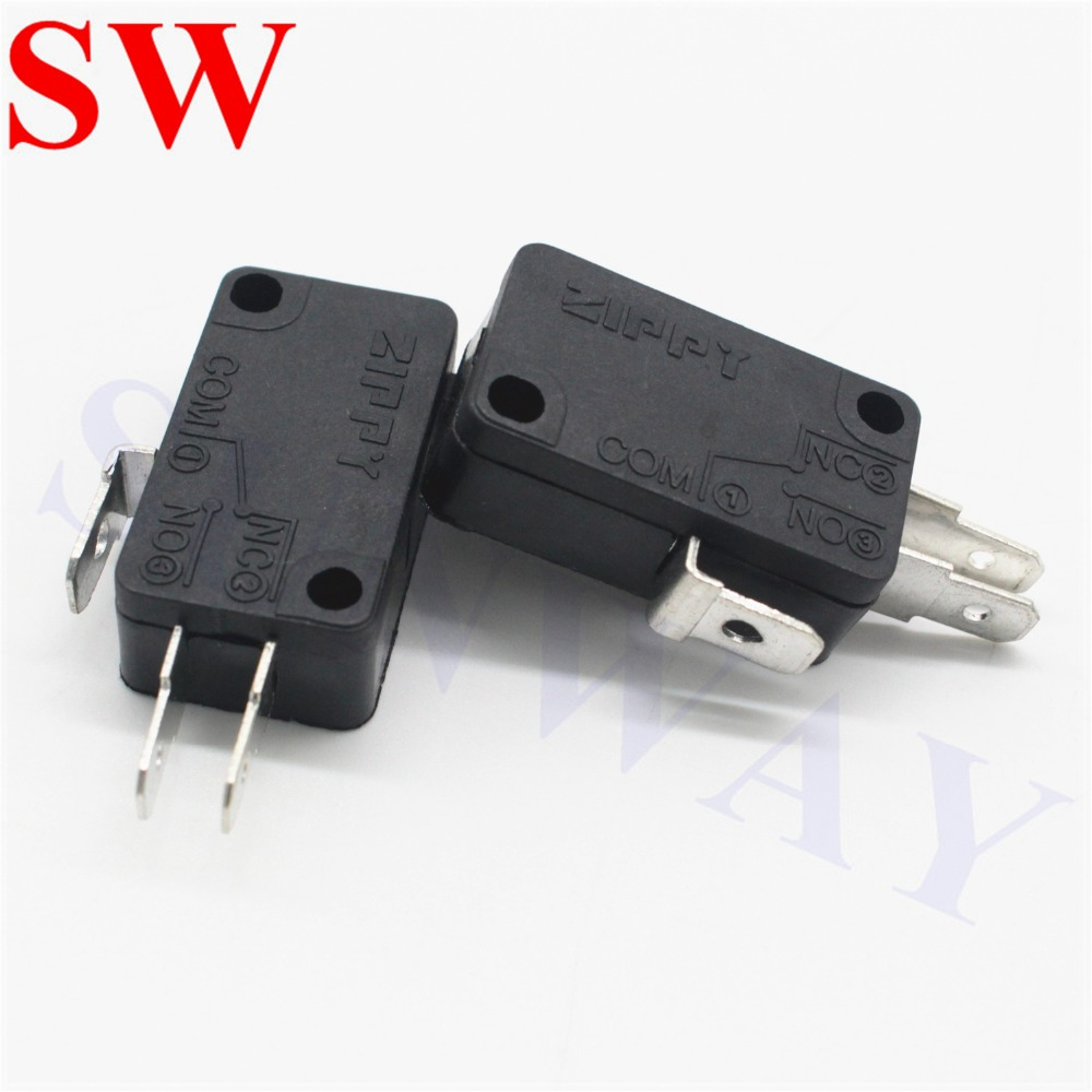 5 Pieces ZIPPY Coin Switch With Straight Long Wire for Arcade Coin Mech