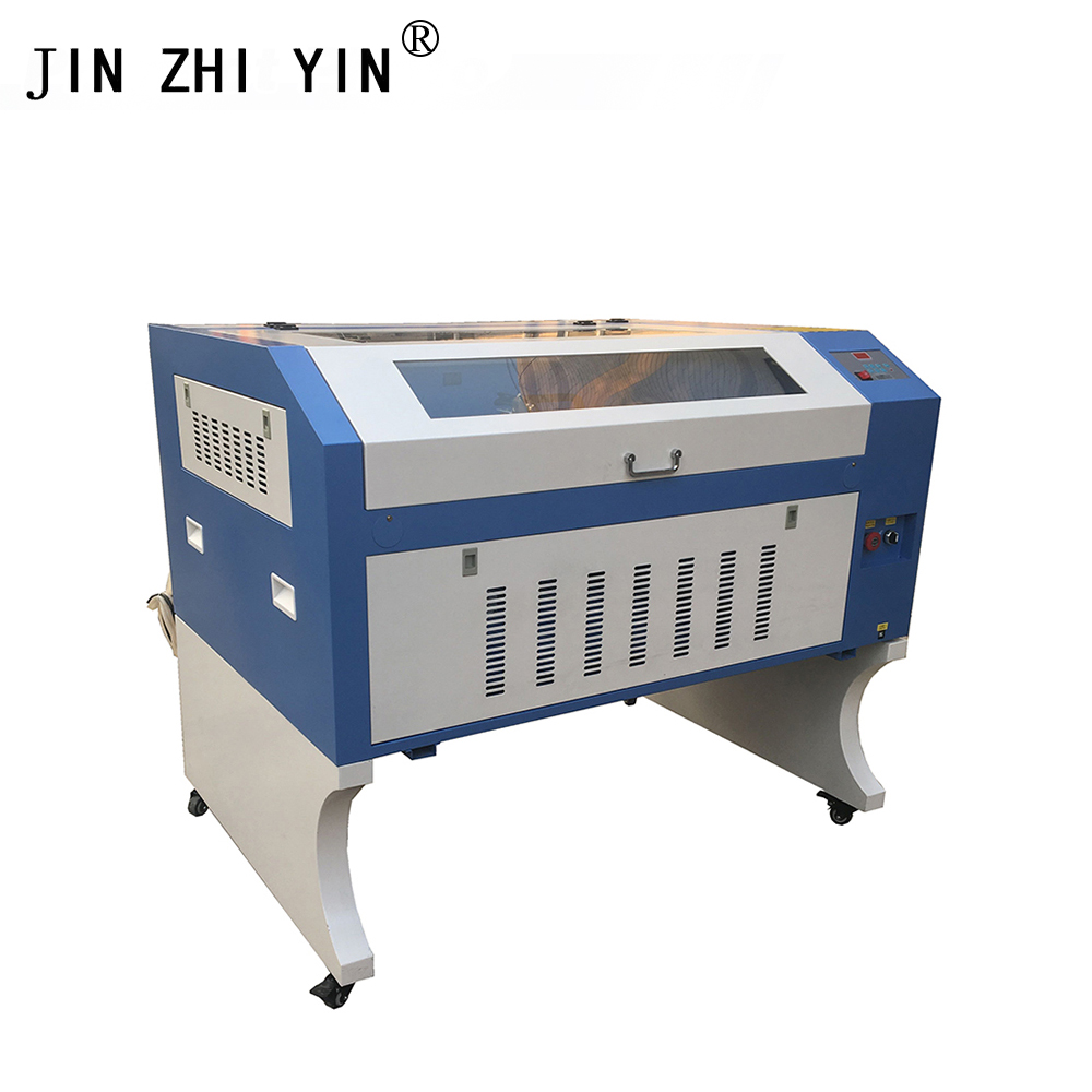6090 80W Laser Engraving Machine 900 600mm Co2 Laser Cutting Machine with Up and Down Table