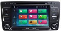 IPS screen Android 8.1 Car DVD Multimedia Player for SKODA Octavia 2009 2013 with WiFi BT Stereo GP