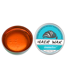 IMMETEE New Product Hair Color Wax For Men&Women Hair Styling Brown 120g*2 immetee new product hair color wax for men