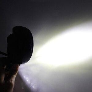 Image 5 - OKEEN 12V Car LED Work Light Bar 28W Motorcycle Bike Fog DRL Headlight 3200Lm High Low Beam Spotlight 6500K White Headlamp 24V