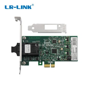 Image 1 - LR LINK 9030PF LX 100 Mb الألياف البصرية بطاقة الشبكة PCI اكسبريس x1 100FX إيثرنت Lan محول ل PC إنتل 82574 Nic