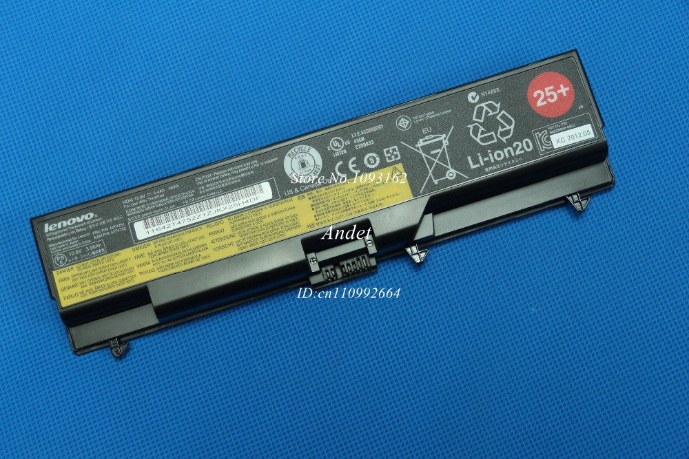 New Original Laptop Battery for Lenovo ThinkPad T410 T420 W510 W520 E40 E50 E420 E520 E425 E525 SL410 SL510 L410 L412 L512 new original us english keyboard thinkpad edge e420 e420s e425 e320 e325 for lenovo laptop fru 63y0213 04w0800