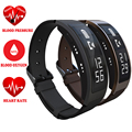 Original b3 + pulsera inteligente hablar banda talkband presión arterial de oxígeno bluetooth podómetro del ritmo cardíaco reloj smartband pk huawei