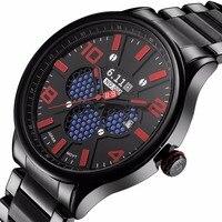 2017แบรนด์ใหม่หรูหราของมนุษย์นาฬิกาพลังงานแสงอาทิตย์ทหารกีฬานาฬิกาดิจิตอลกลางแจ้งนาฬิกาLED...