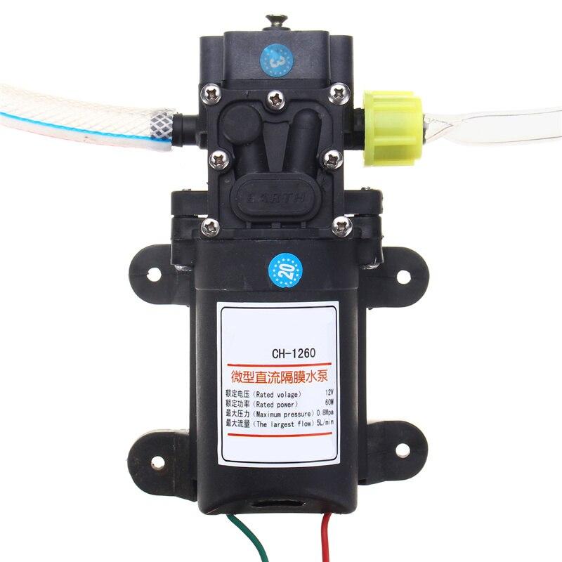 12 V 60 W Huile Fluide Liquide Extracteur 5L Bateau De Voiture Auto Pompe De Transfert Changement Kit Pompes, pièces Accessoires - 4