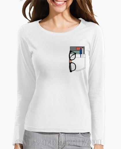 2017 Autumn Winter Black friday womens Long Sleeve Nerd O neck Print Knitted funny designer t shirt women