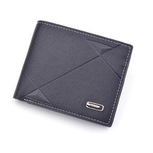 Men's wallet short multi-card