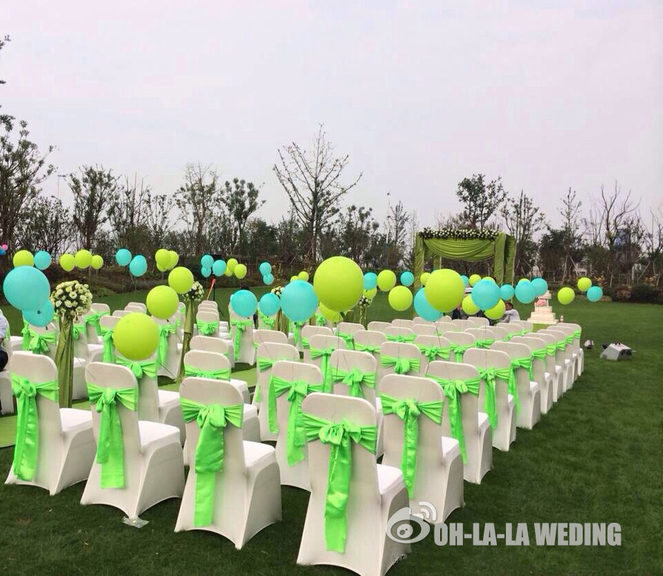 wedding chair covers for bride and groom most expensive sold 1 2 100pcs 40colors satin cover sash tablecloth diy event party decoration