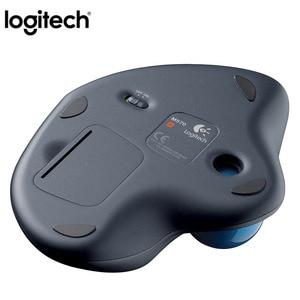 Image 3 - Logitech souris Laser sans fil M570, 100% Ghz, Trackball, ergonomique, verticale, professionnelle, pour windows 10/2.4, 8/7 originale