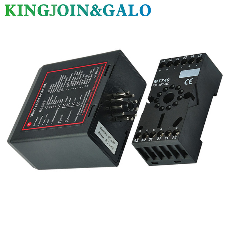 PD132 Single Channel Inductive Vehicle Loop Detector Sensor For Mightymule Motor Barrier Gate Car Parking System