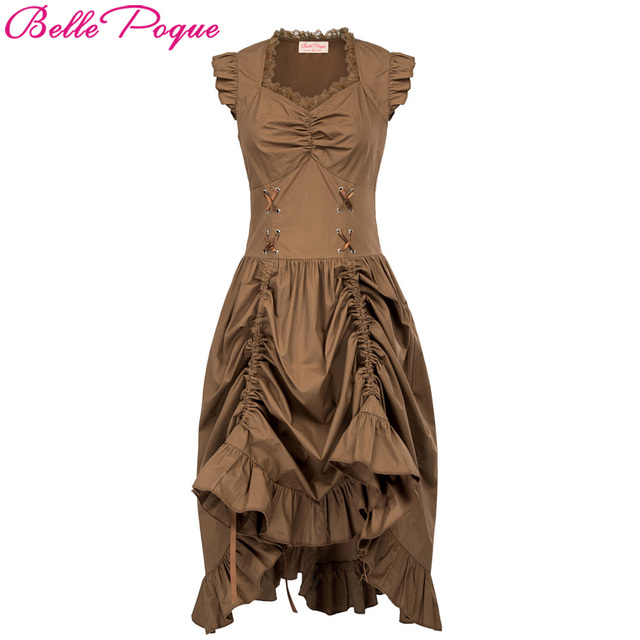 fa656a6a0b Women Autumn Medieval Renaissance Costume Clothing Corset Goth Dress 2017  Robe Vintage Steampunk Punk Gothic Dresses Vestidos