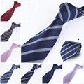 Gravata мужская полосатый галстук 100% жаккард 10 цвет видов опыта рулевой свадьба галстук пряжа gravata галстук мужской