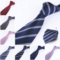 Gravata dos homens laço Listrado 100% Seda Jacquard 10 cores Tipos de experiência Tie Wedding Party Negócios Gravata Laços Para homens