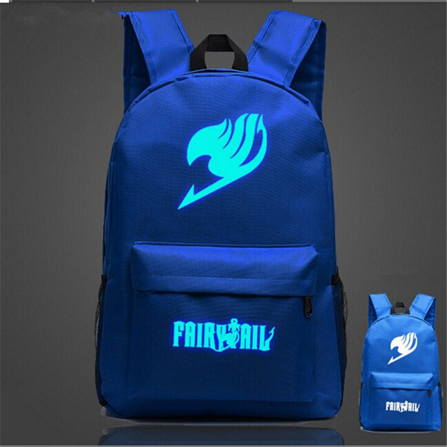 Fairy Tail And One Piece Backpack