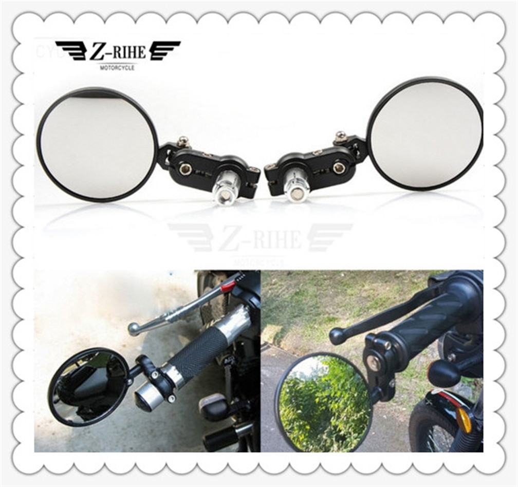 Motorcycle Handlebar Rear View Side <font><b>Mirror</b></font> Rearview for <font><b>Honda</b></font> CB 599 919 400 CB600 HORNET <font><b>CBR</b></font> 600 F2 F3 F4 F4i 900RR <font><b>250</b></font> 400 VTR image
