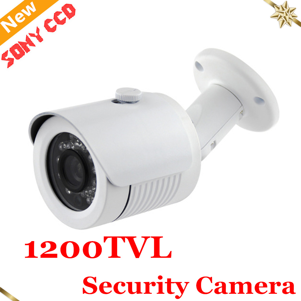 New Hot selling HD 1200TVL IR-LEDs CCTV Camera Home Security Day/Night Waterproof Security Camera CCTV system