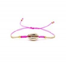 Go2boho MIYUKI Delica Bracelet Puka Shell Pink Bileklik Charm Summer Jewelry Pulseras 2019 Women Friendship Rope Insta