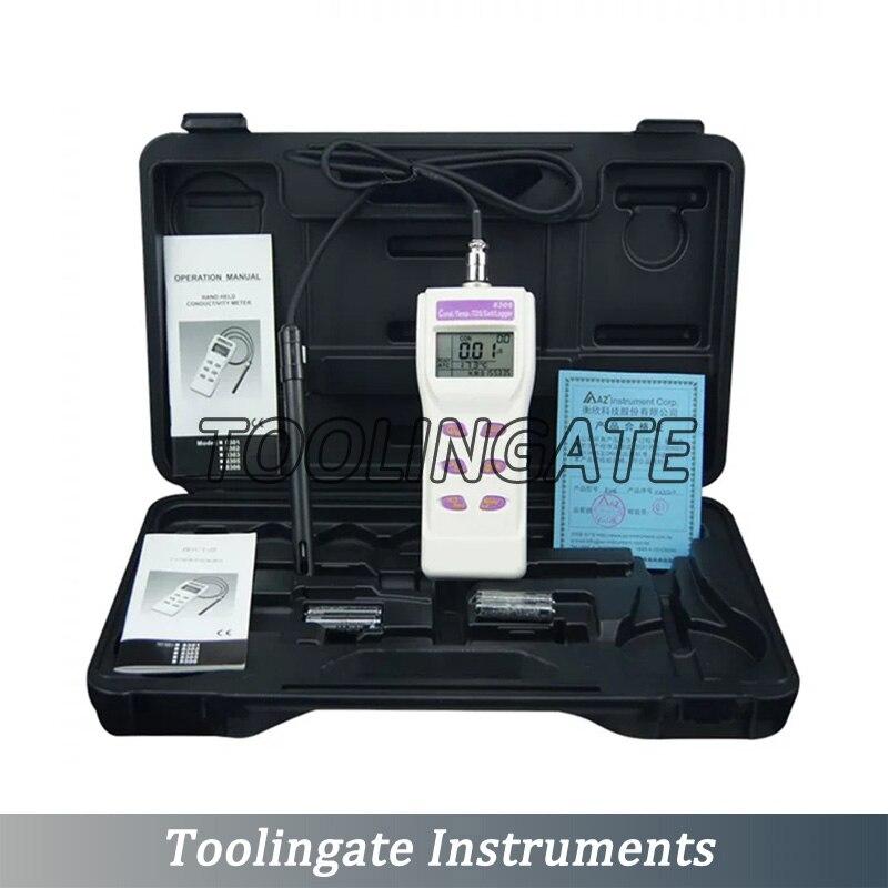 Digital Handheld AZ8303 PH Meter Conductivity Detector Temperature Tester Water Quality AZ-8303 high accuracy
