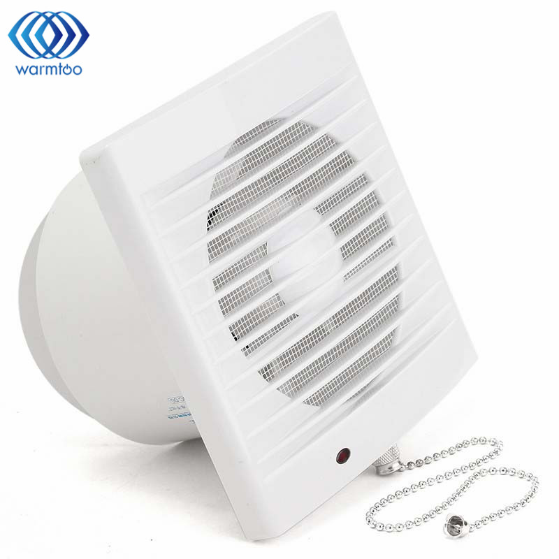 5 Inch 16W 220V Household Window Type Silent Extractor Exhaust Fan Hotel Glass Windows Wall Kitchen