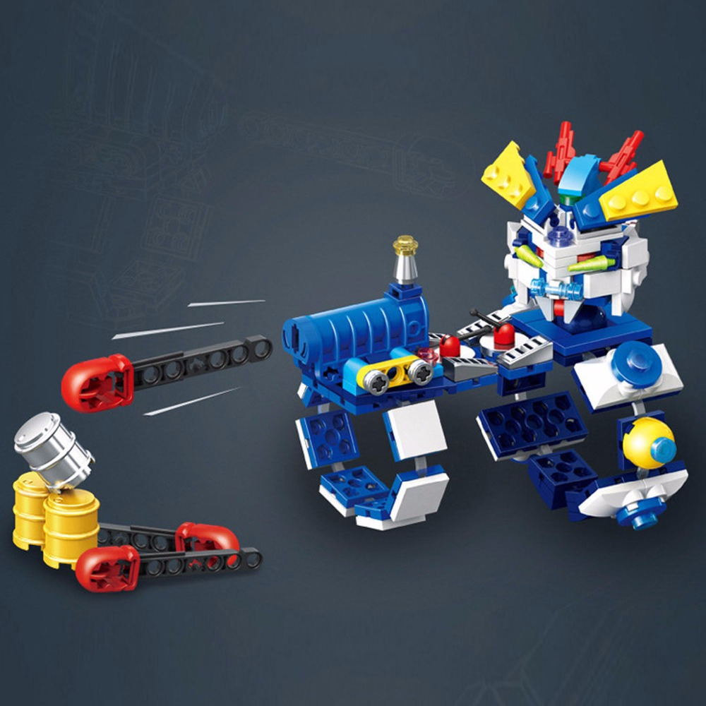 Cool Hand Missile Launcher Building Blocks Set,Building Bricks Toys for Children,Fun Toys Warsring Battle Game Toys 622003
