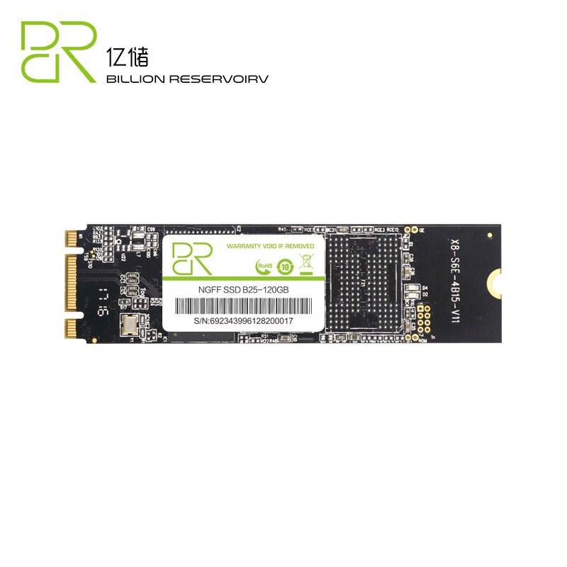 Nouveau NGFF M.2 SSD 2280 MLC NAND 120 GB 240 GB SSD 6 Gb/s M2 disque dur interne pour ordinateur portable Tbalet PC