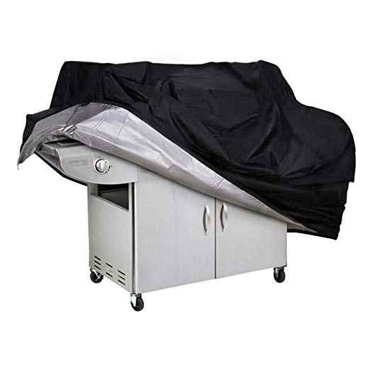Waterproof BBQ Cover BBQ Accessories Grill Cover Anti Dust Rain Gas Charcoal Electric Barbeque Grill Protection Outdoor 4 Sizes