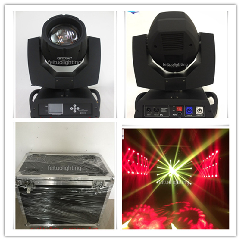 Beam 230w Clay Paky Sharpy Moving Head 7r Moving Head 230 Beam Moving Head With Case Stage DJ Disco Party Show Wedding Lighting sharpy beam 230w 7r moving head light 230 beam 7r disco lights for dj club nightclub party